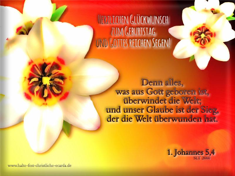Geburtstag Halte Fest Christliche E Cards