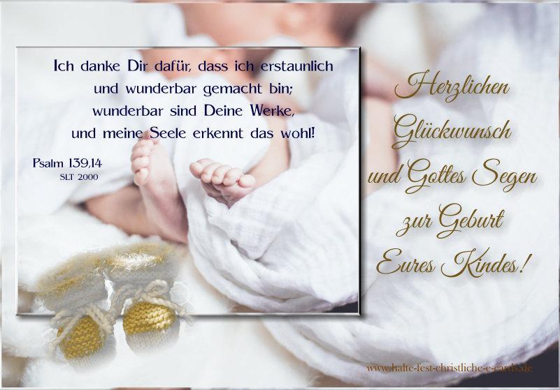 Christliche Glückwünsche Zur Geburt Eines Kindes