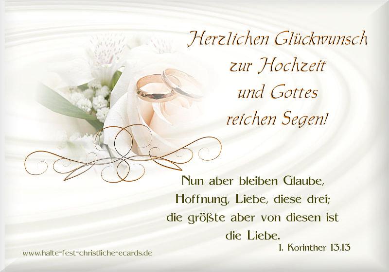 Hochzeit Vermählung Halte Fest Christliche E Cards